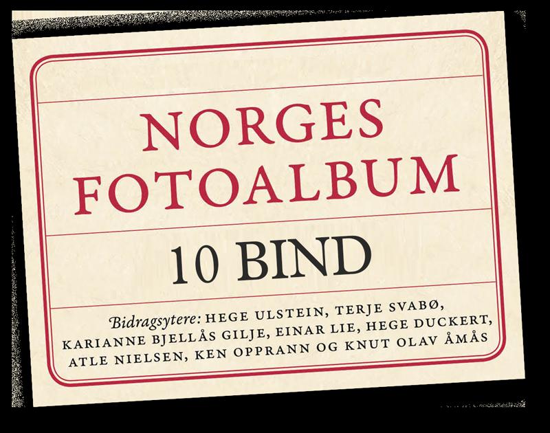 Norges Fotoalbum, en samling på 10 bind.